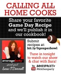 submit a super bowl recipe
